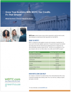 WOTC Greenhouse Partnership